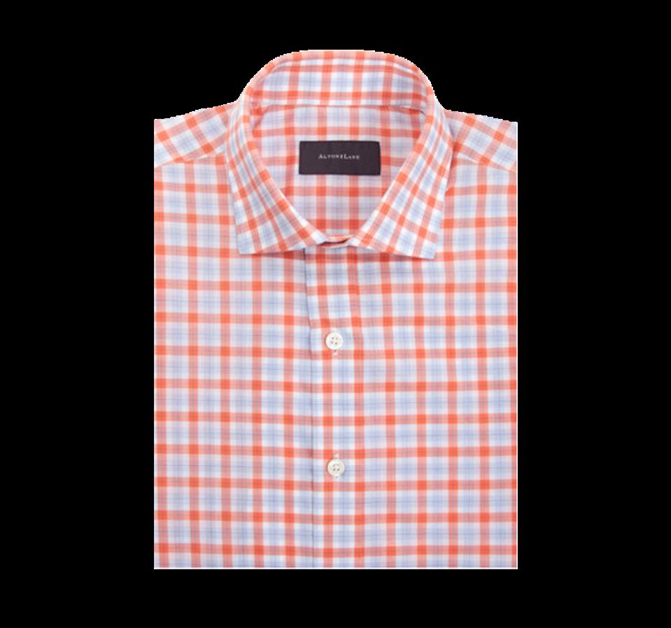 Alton Lane's Norfolk Tattersall Shirt.