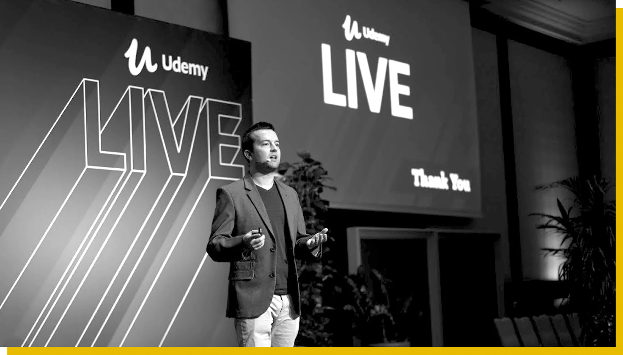 Phil at Udemy Live