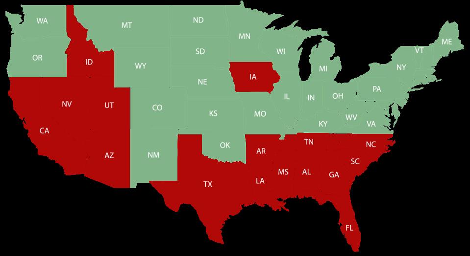 tri-state quarantine