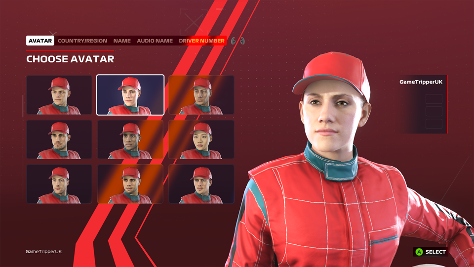 F1 2020 avatar creation suite