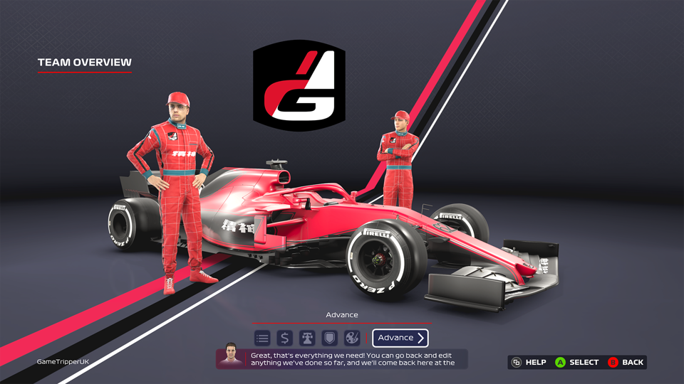 F1 2020 my team mode with drivers