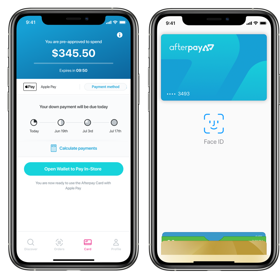 Afterpay launches in-store ″Buy Now Pay Later″ payment option in the US.