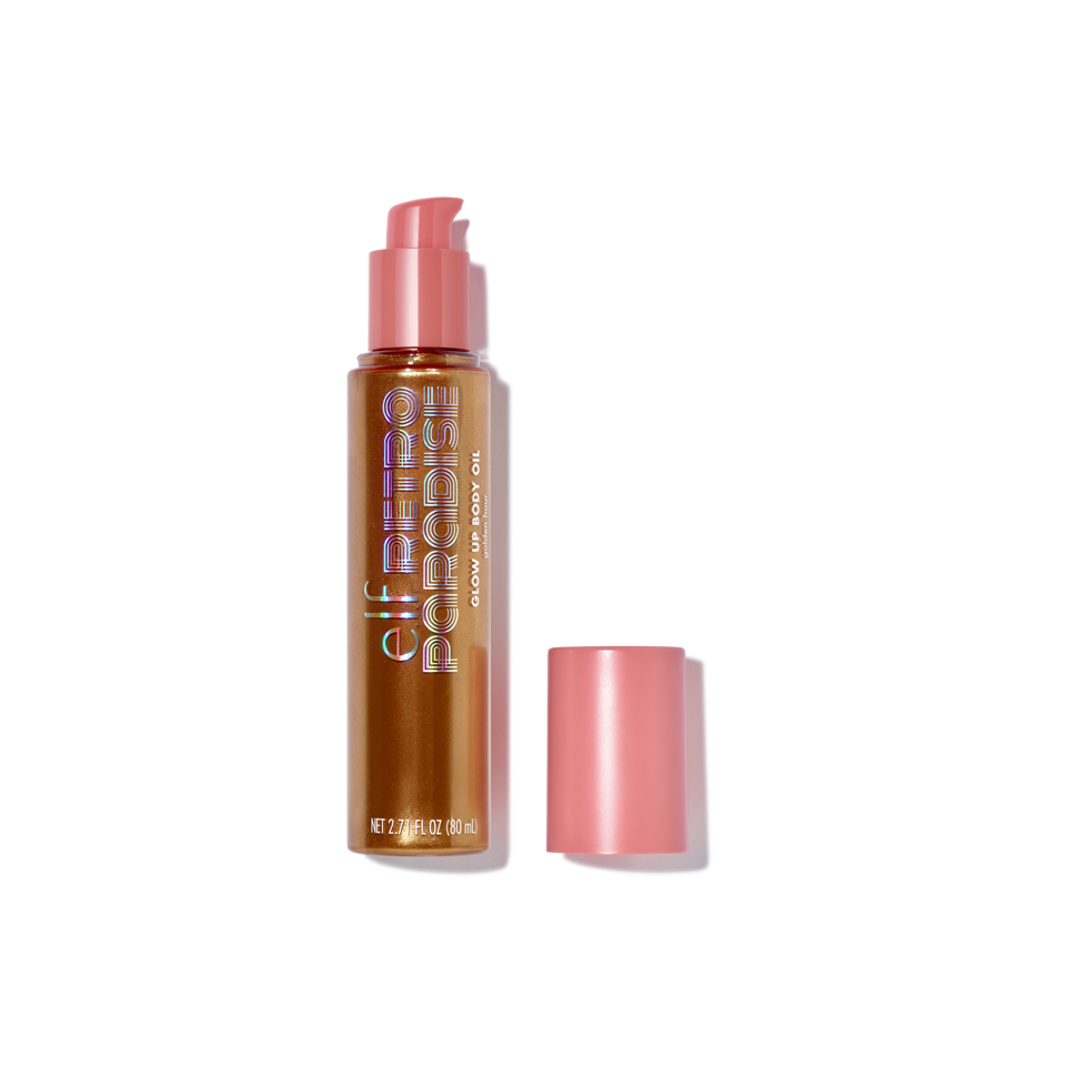 e.l.f. Retro Paradise Glow Up Body Oil in Golden Hour