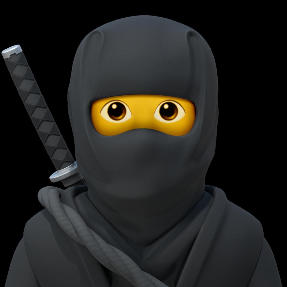 Ninja emoji