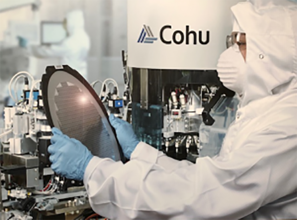 Cohu, which makes the equipment used by semiconductor companies to manufacture and test the underlying chips to modernize.