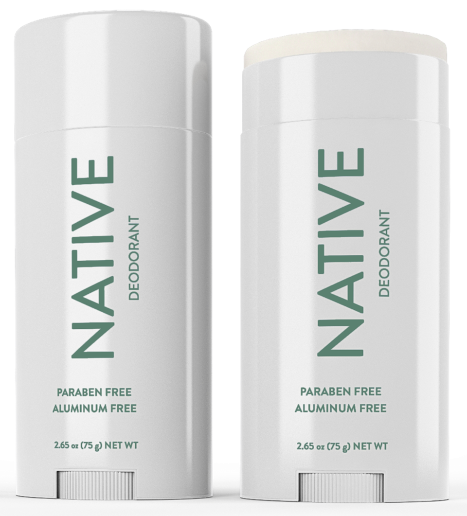 Native's Aloe & Eucalyptus deodorant is refreshingly clean with a soothing green scent
