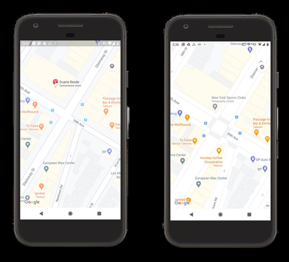 Google, Google Maps, vue de rue Google Maps, itinéraires Google Maps, recherche Google Maps,