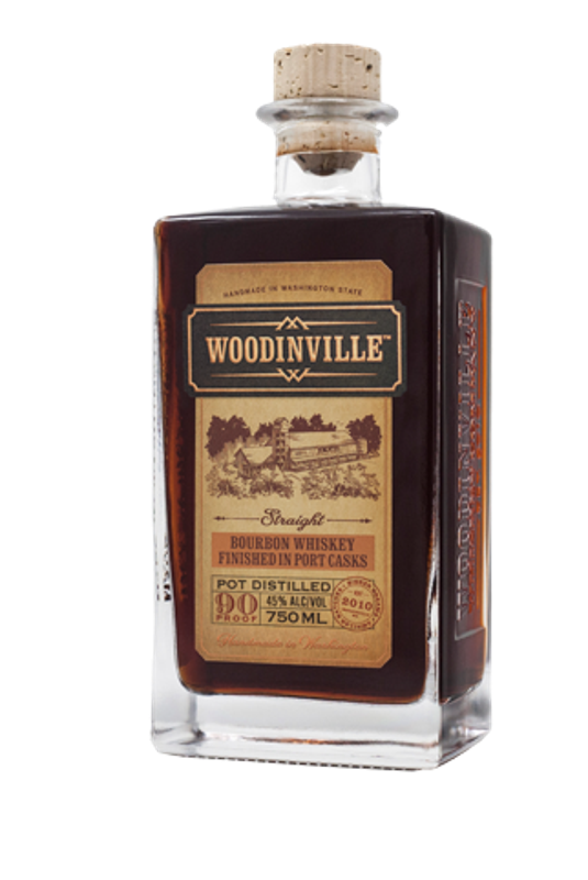 Woodinville Straight Bourbon Whiskey Finished in Port Casks