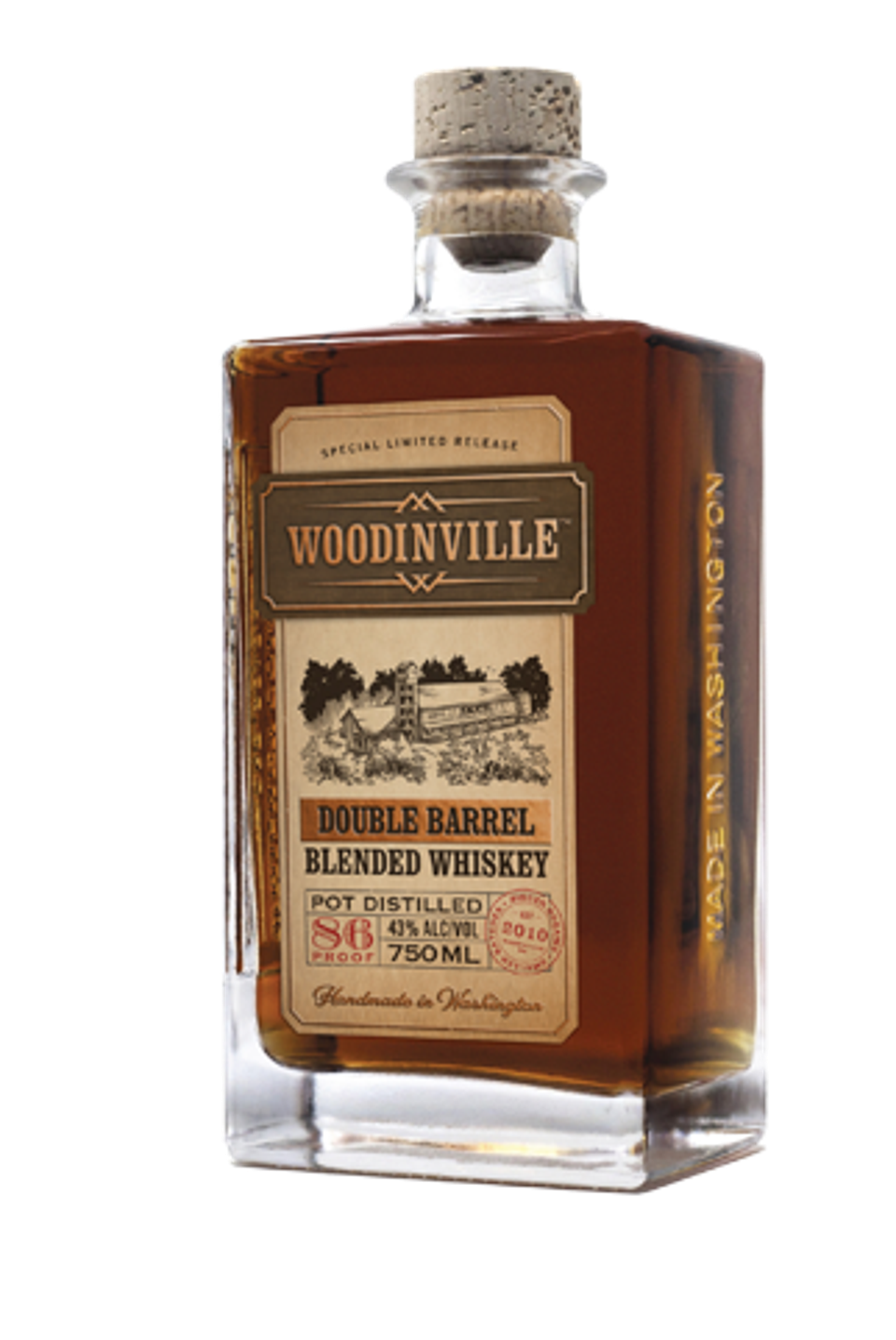 Woodinville Double Barrel Blended Whiskey