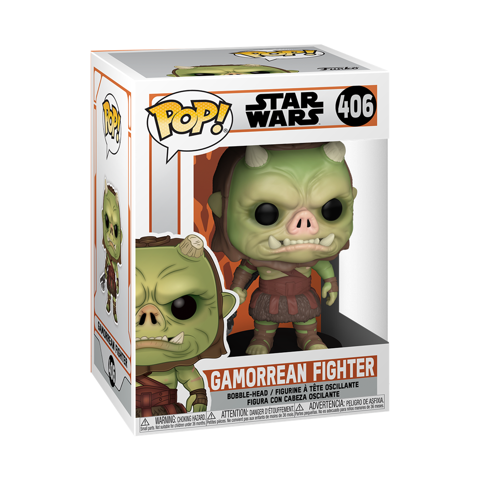 Figurine of a Gamorrean Fighter from Star Wars.