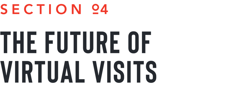 the future of virtual visits