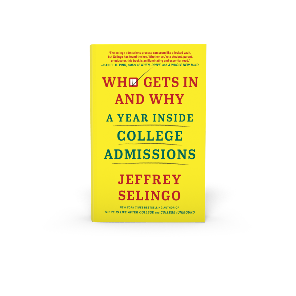 Book cover for Who Gets In & Why: A Year Inside College Admissions