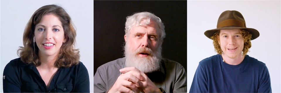 Kira Peikoff leads a discussion between George Church and D.A. Wallach at SynBioBeta 2020.