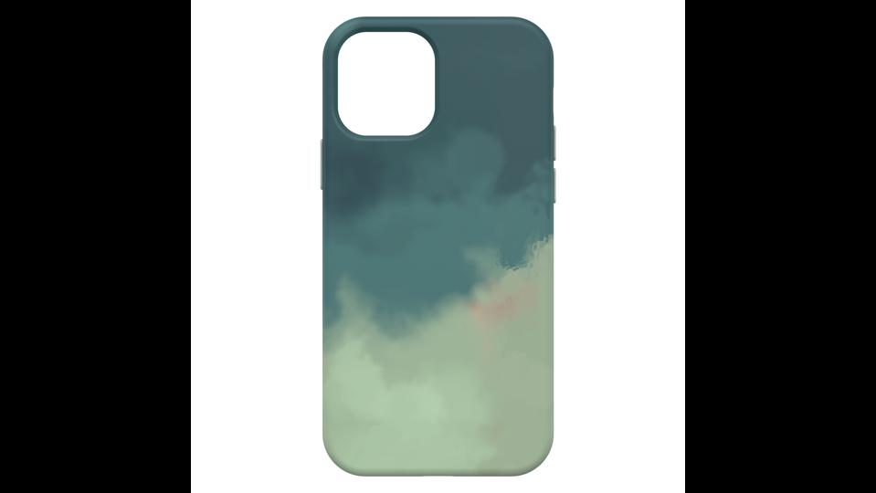 Otterbox Figura case with cloud design