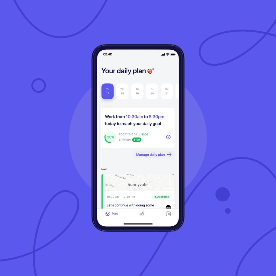 Screenshot of Stoovo's app and platform