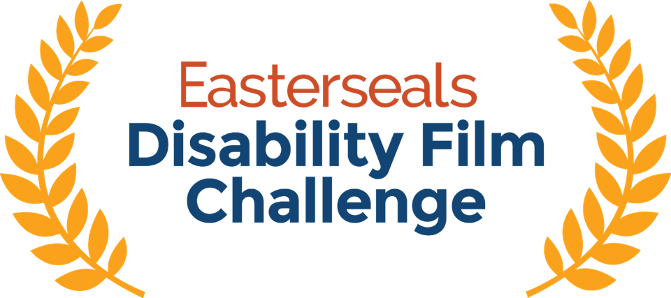 A logo that says Easterseals Disability Film Challenge.