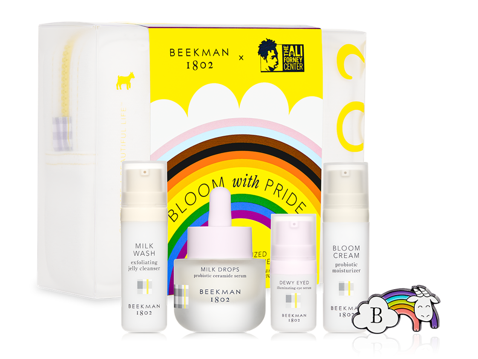 10 Makeup And Beauty Brands To Shop During Pride Month To Support The LGBTQ Community-Bloom With Pride Skincare Starter Kit