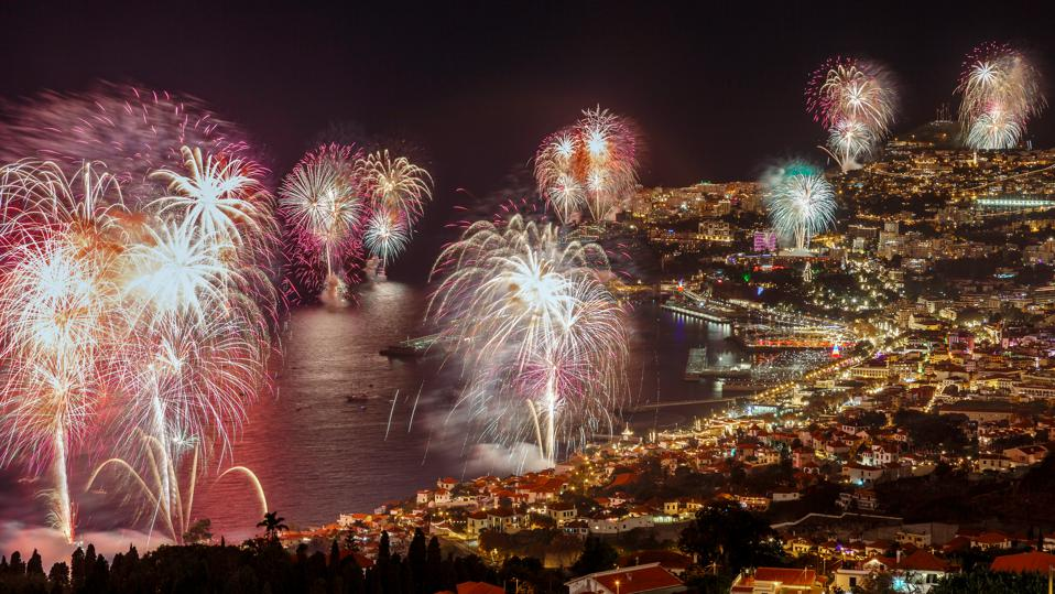 For Spectacular New Year's Eve Fireworks, Travel To The Portuguese Island Of Madeira