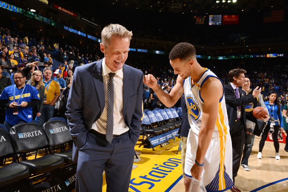 Steve Kerr And Steph Curry Have What Everybody Else Wants