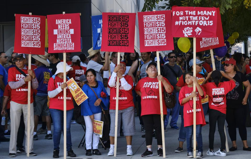 California Passed $15 An Hour Two Years Ago -- How's It Working?