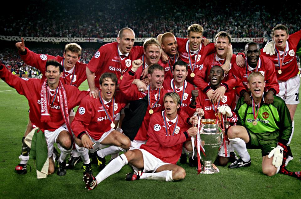 Manchester United's 1999 Treble Winners Remain English Football's Greatest Ever Team