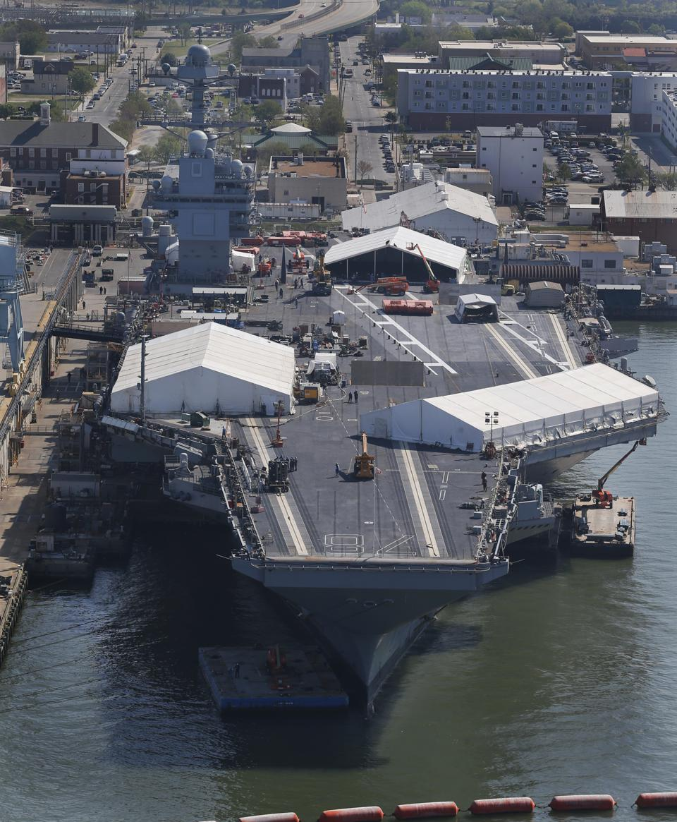 The Truman Debacle: Are Dated Dry Docks Sinking America's Carrier Fleet?