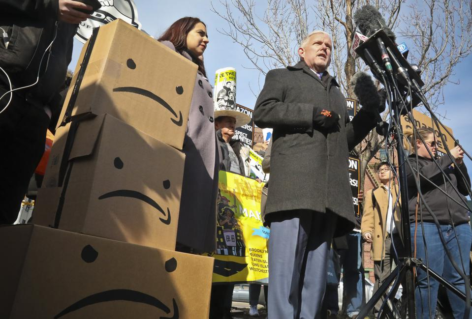 AOC, Gianaris And Other NY Politicians Should Apologize To American Workers For Amazon Pullout