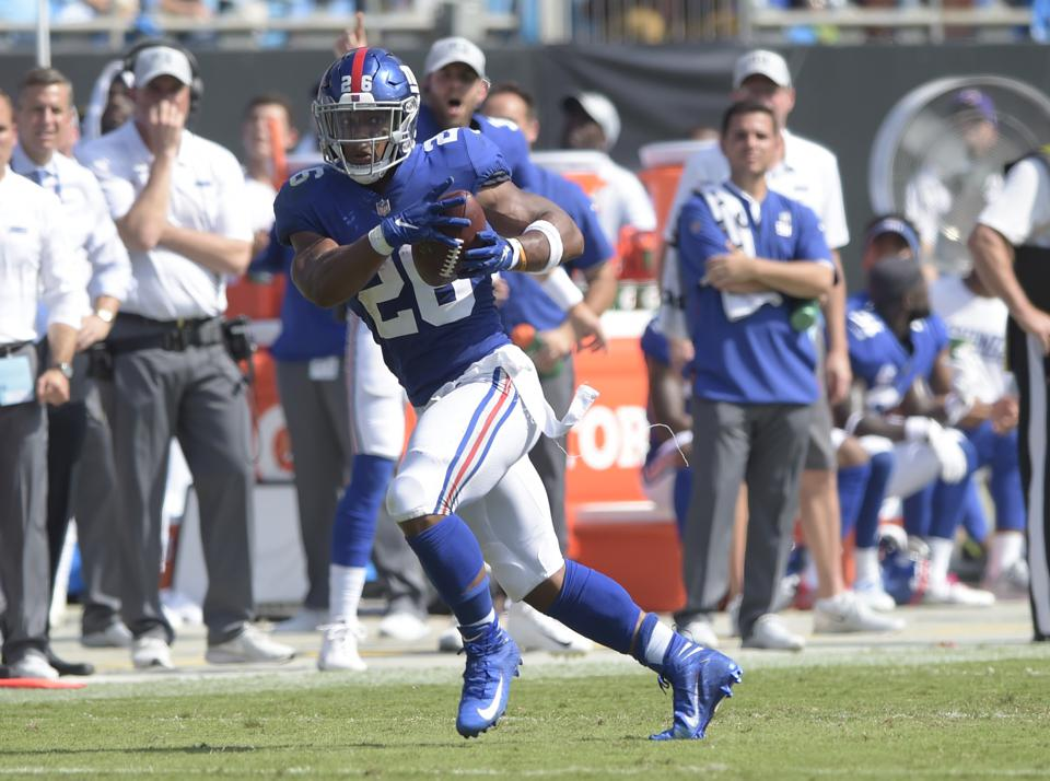 Giants Superstar Saquon Barkley Taking Patient Approach When It Comes To Finances