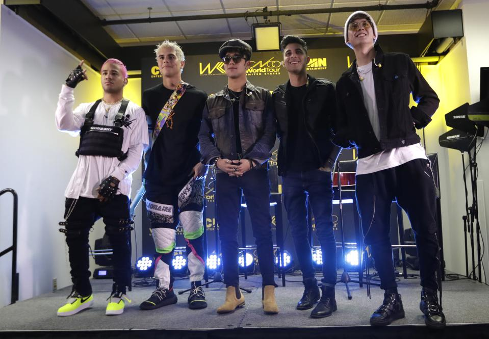 CNCO Makes Biggest Spanglish Statement Yet With New 'Pretend' Single