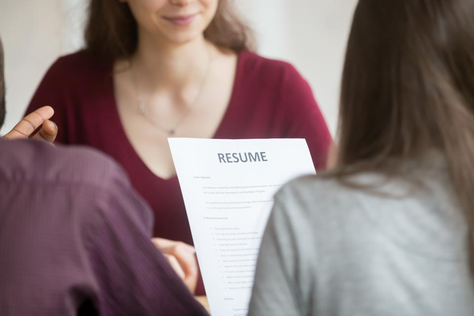 steps for writing a resumes