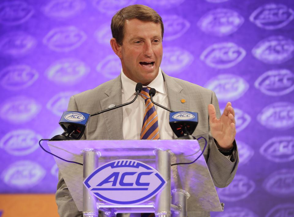 Dabo Swinney, The Clemson Tigers, And The Genius Of Rising Inequality