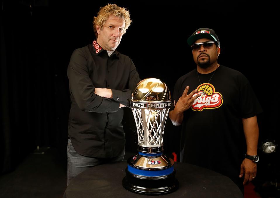 Ice Cube And Jeff Kwatinetz Talk Use Of CBD In BIG3 Basketball