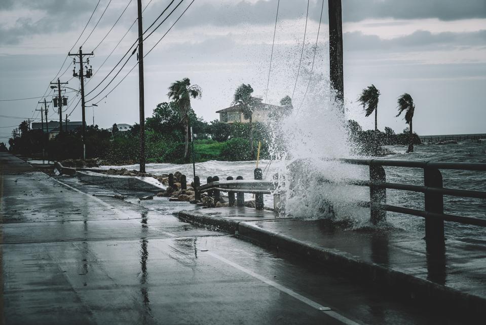 Making News In The Wake Of A Hurricane