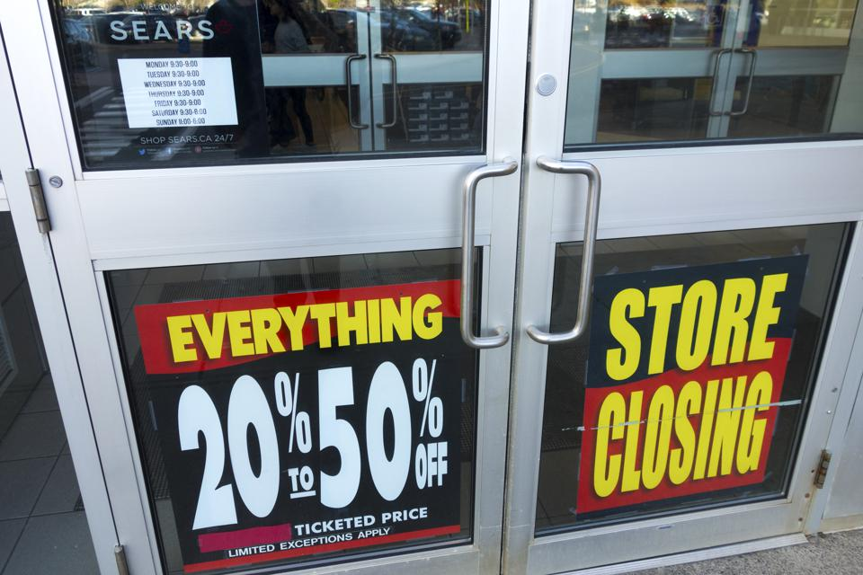 Dead Brand Walking: Sears Is Going Out With A Bang