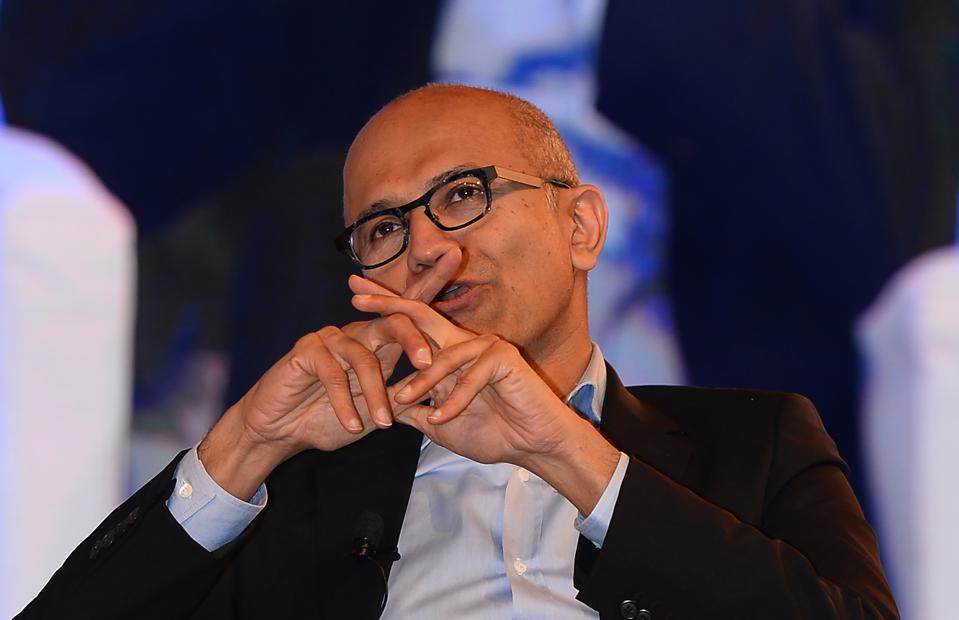 The #1 CEO Of The Year In The Cloud Wars: Microsoft's Satya Nadella