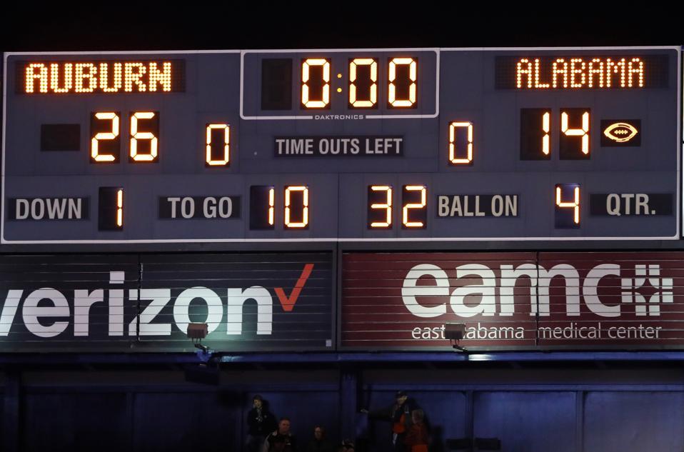 2017 College Football Playoff Teams >> Alabama Loss Proves College Football Playoff System Is Still Flawed