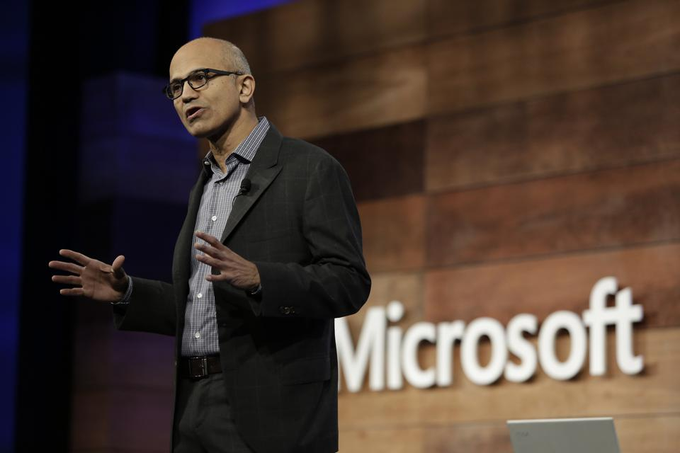 Microsoft CEO Satya Nadella's Clear And Consistent Vision Rallies Employees Around A Common Purpose