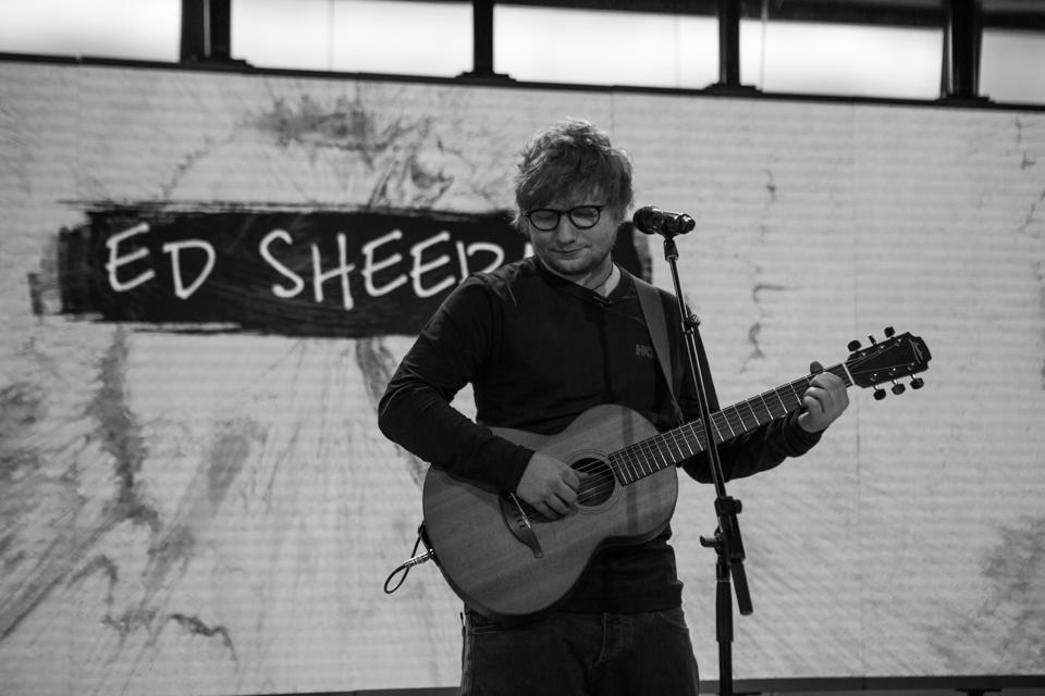 Ed Sheeran And Justin Bieber's 'I Don't Care' Debuts At No. 1 In The U.K. With A Huge First Week
