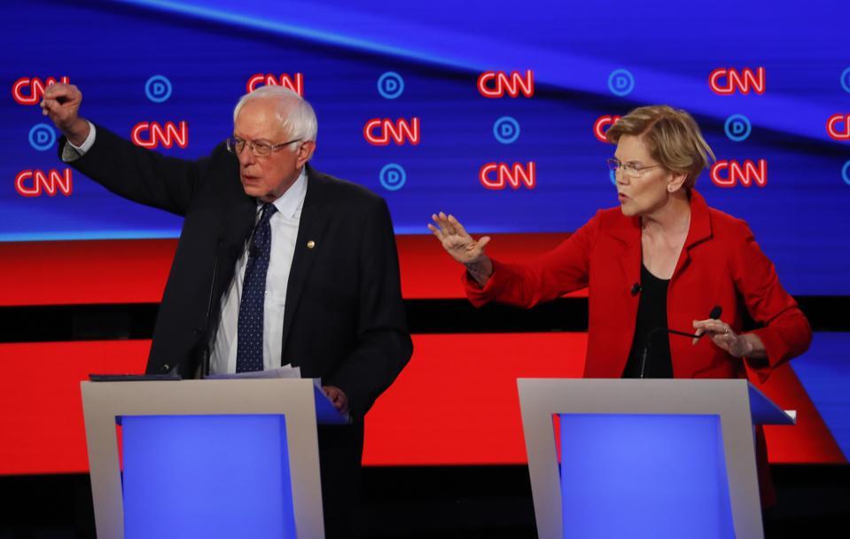 Bernie Sanders And Elizabeth Warren Mistake Money For Wealth