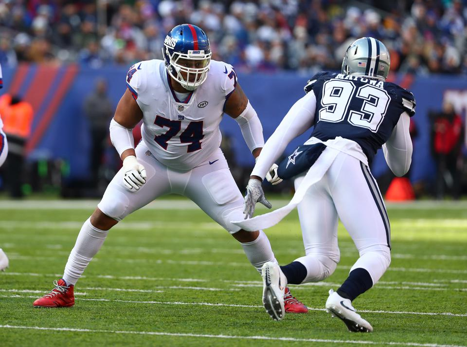 Giants Coach Pat Shurmur Encouraged By Ereck Flowers' Effort So Far