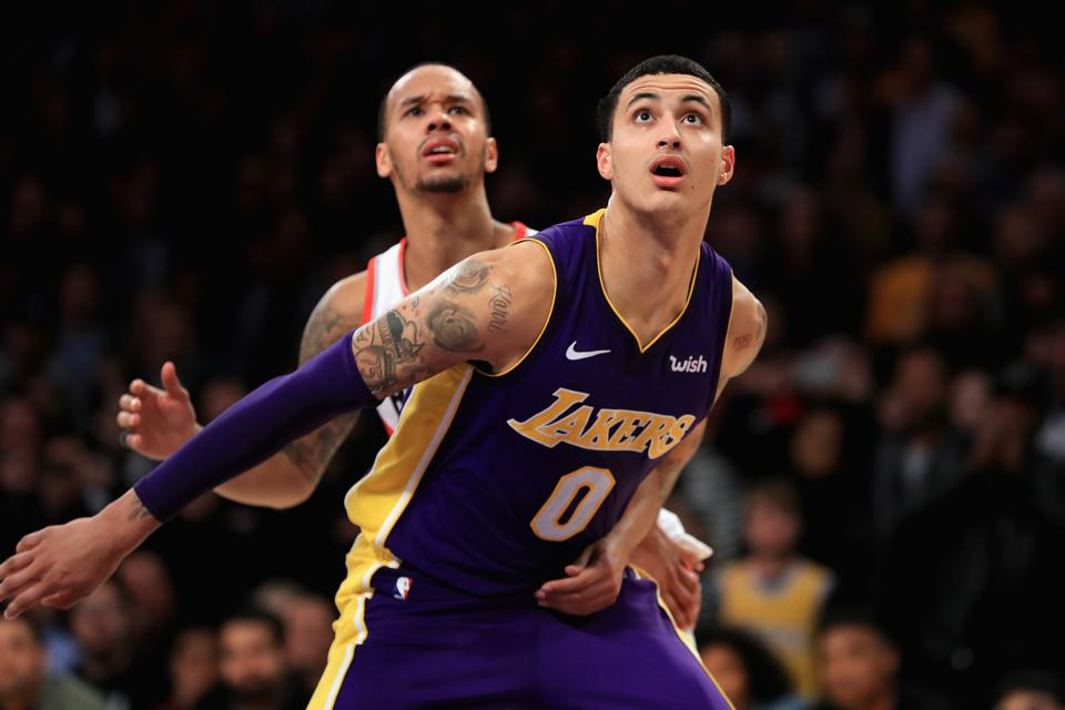 How So Many NBA Teams Missed The Boat On Kyle Kuzma, The Lakers' Record-Setting Rookie