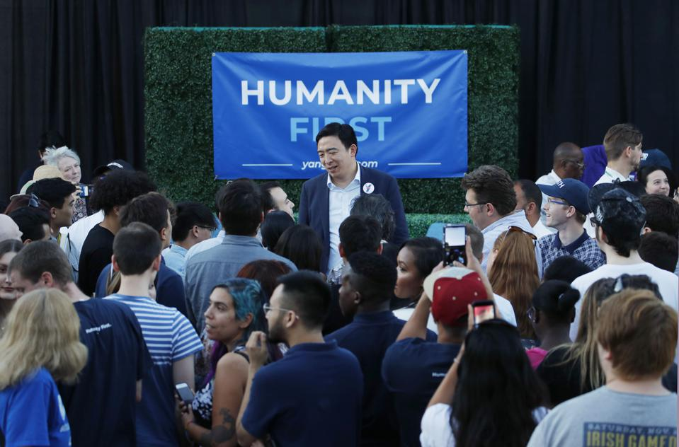 What If Presidential Hopeful Andrew Yang Is Right?