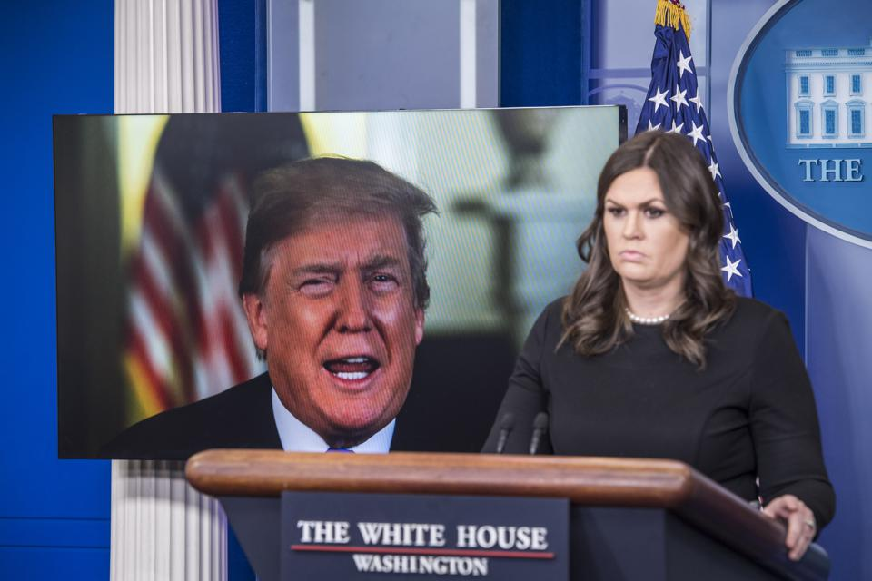 Trump Has Abandoned The Press Briefing Room And Reporters Should Too