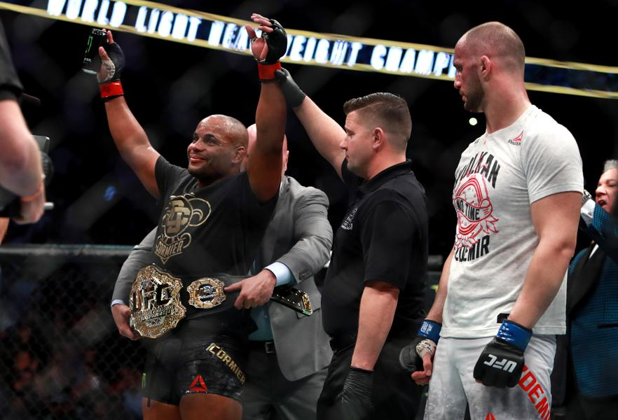 Daniel Cormier On UFC 220 Win: I Appreciate My Family Being Able To Smile Instead Of Shedding Tears