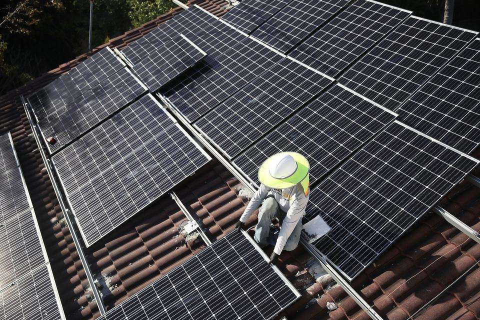 The Solar Power Potential Of Rooftops In The U.S.