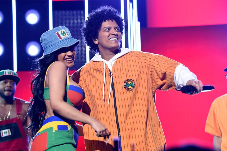 Cardi B And Bruno Mars Rise To No. 3 While The Jonas Brothers Run The Show For The First Time