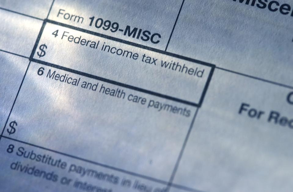 IRS Forms 1099 Are Coming: Pay Attention To What You Receive