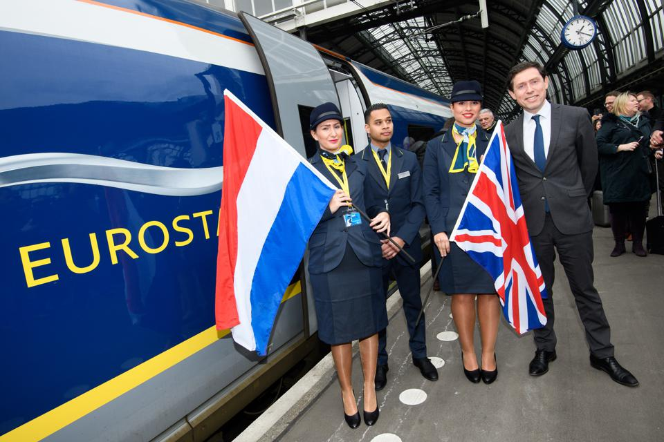 how to get from london to amsterdam eurostar