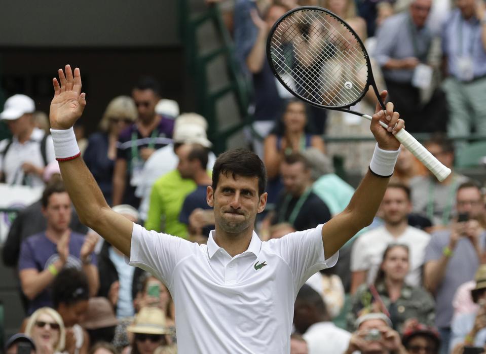 'Big Three' Of Novak Djokovic, Roger Federer, Rafa Nadal Cruise Into Wimbledon Quarterfinals