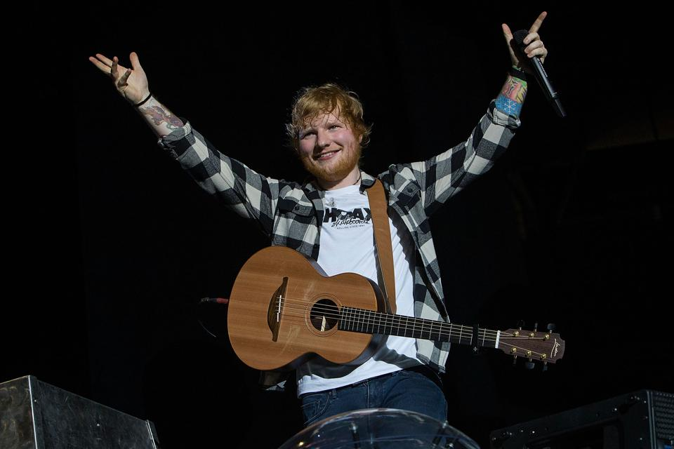 Ed Sheeran And Justin Bieber Join The Exclusive Group Of Artists Who Have Done This On Spotify